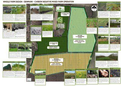 Whole Farm Design - Carbon Negative Diversified Agroforestry Farm - Regenerative Agriculture Concept Design